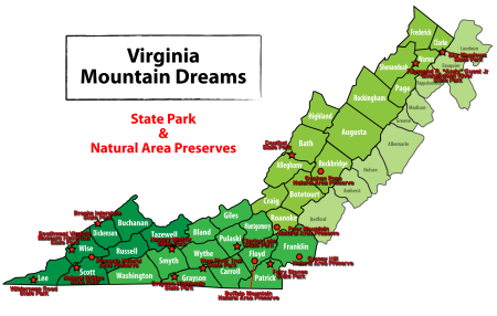 Virginia State Parks | Daniel D. Eubank\'s Blog
