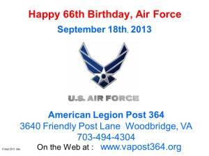 AirForce Birthday 9_18_13