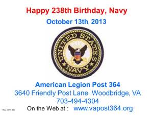 Navy Birthday 10_13_13