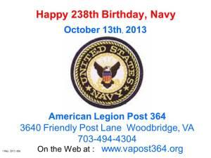 Navy Birthday 10_13_13