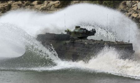 AAV-7 Splash