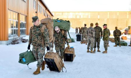 Marines in Norway