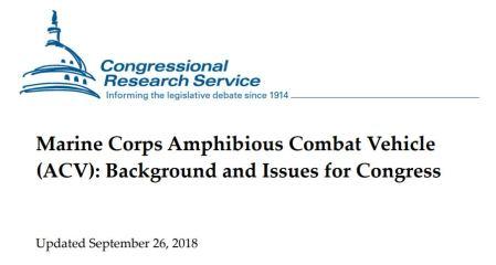 ACV Congressional Report